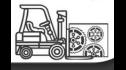 logo de Equipos y Montacargas para la Industria
