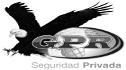 logo de Seguridad Privada GPR