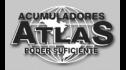 Logotipo de Acumuladores y Servicios Atlas