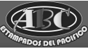 logo de ABC Estampados del Pacifico